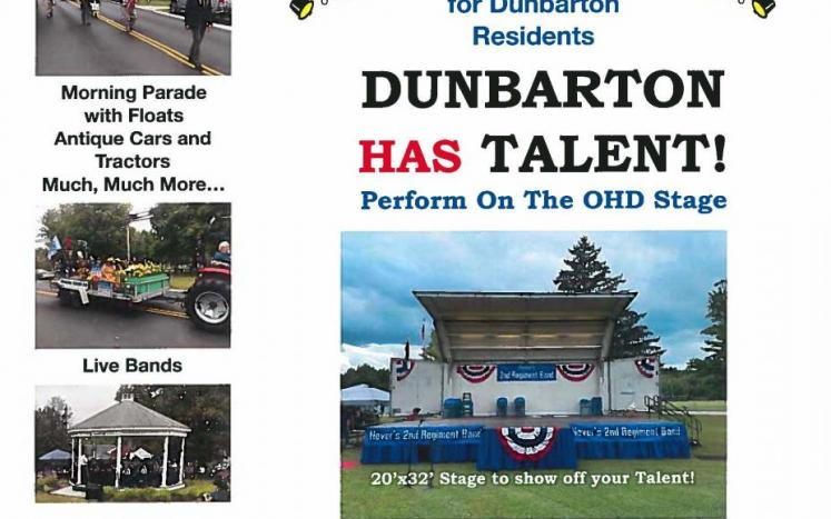 Old Home Day Flyer